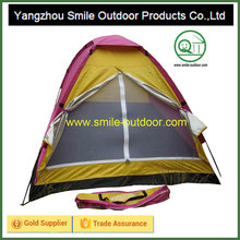 storage simple personal outdoor pink camping tent bed