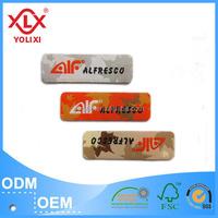 Customize iron on clothing labels