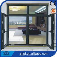 Casement standard size aluminium window/aluminum window and door
