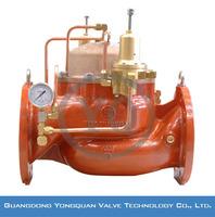 FQFA46X-10Q/16Q Piston type Anti-cavitation Water Surge Anticipation Relief Valve, PN 1.0 MPa/1.6 MPa;DN 40-1200mm