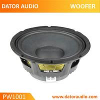 P audio 10 inch professional bass speaker,woofer speaker