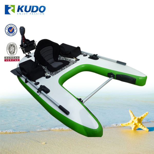 2015 high quality inflatable fishing board with trolling