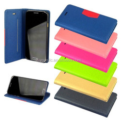 Ultra Thin Wallet Leather Case,Slim Leather Case For Samsung Galaxy S5 I9600