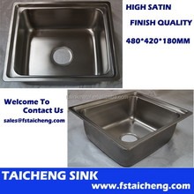 TCT4842S Stainless Steel Mini Kitchen Sink With Competitive Price