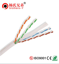 Provide Quality Cat6 305m Cable With Bare Copper Pass Fluke Test Ethernet Lan Cable