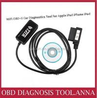 2015 WiFi OBD-II Car Diagnostics Tool for Apple iPad iPhone OBD2 Code Scanner WiFi free shipping