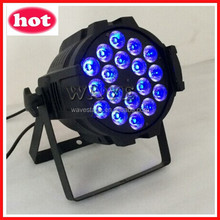 WLP-01-5 18 pcs rgbwa(uv) 5 in 1(or 6 in 1) 15w leds indoor par can 18pcs 15w 5 in 1 led par 64