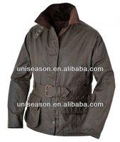 Winter outdoor Wax Jacket design for men