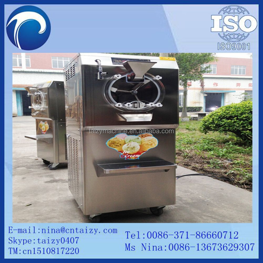 Commercial ice cream maker stainless steel mold