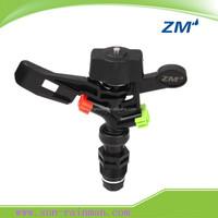 Dual Nozzles Reliable Plastic Impact Sprinkler