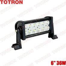 "Hot sell !! 9-32V Waterproof LED light bar 6"" for motorcycle,ATV,Motors,Mini,Smart Car"