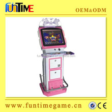 Arcade touch screen game machine, coin operated game machine touch screen games