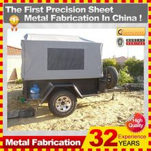 OEM or ODM transport truck camper trailer with 32-year experience