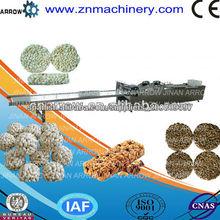 2014 Venta caliente mejor calidad de grano Granola Cereal Bar Extrusora