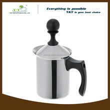 Custom stainless steel coffee pot with strainer
