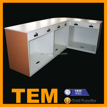 Professional Customized Shop Counter Table Design