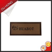 Custom Embossing Leather Patch for Bag