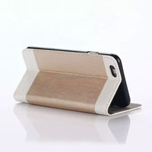 several colors combination new design for iphone6s good quality leather case for iphone6S
