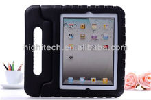 Soft Silicon Foldable Stand Case for ipad 2 3 4