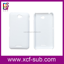 For Sony E4 3D sublimation blanks of mold and phone cases