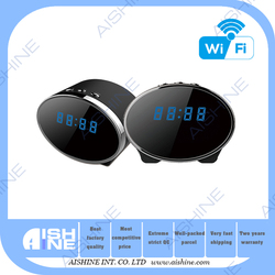 Hottest 1080P HD Wifi Wall Clock Camera P2P Wholesale Wireless Security Camera System