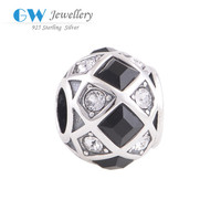 Wholesale Silver Jewelry Fashion Charm Bijouterie Unusual Crystal Ball