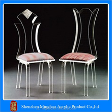 wholesale transparent acrylic plastic chair for dining or office