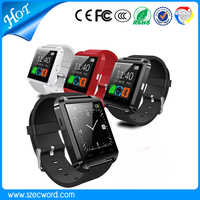 2015 Hots U8 Factory Price Promotion Gift Smart Bluetooth Watch For Android Hands Free Call Smart Watch U8