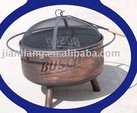 """24"""" copper painting fire pits"""