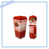 cardboard dump bin display stand candy box gift box paper display