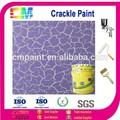 De la pared interior de pintura- textura crujido nano emulsión de pintura acrílica