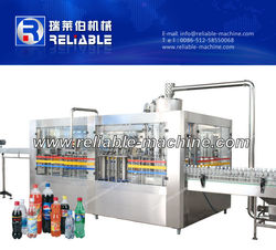 Full Complete 8000BPH Soft/Carbonated Drink Filling Machine