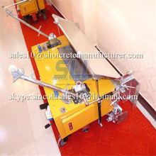 Good running model 2015 new style plastering machine in india