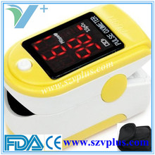 6 colors FDA approved pulse rate oximeters
