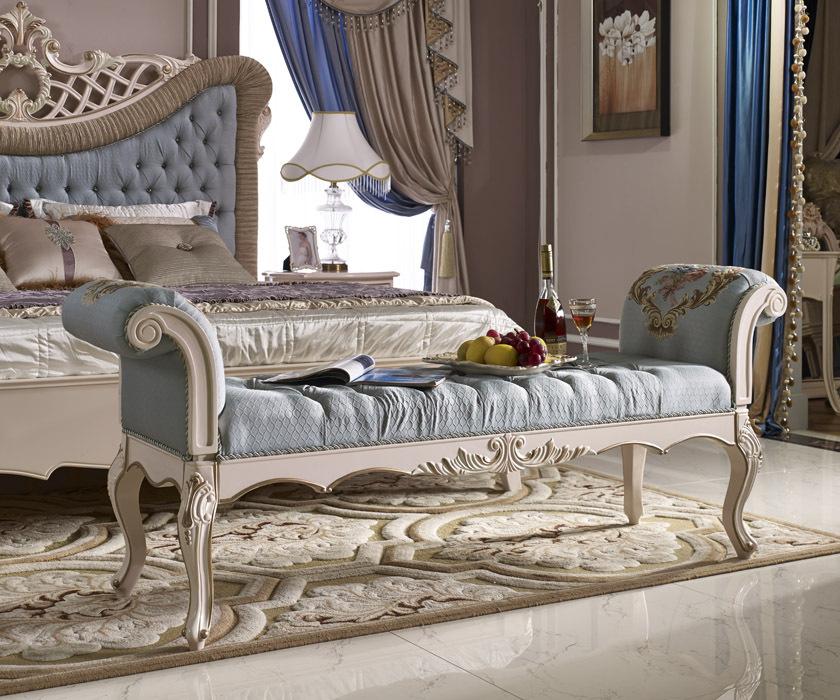 royal luxury bedroom set classic french elegant bed. Black Bedroom Furniture Sets. Home Design Ideas
