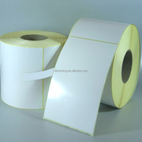Best-selling non removable stickers custom stickers blank label sticker