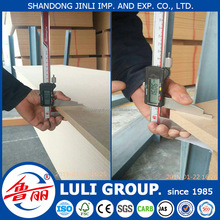price mdf board thickness 10mm from shandong LULI GROUP China factory direct