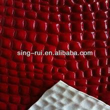 PVC Cuero Sintético/ cuero del PVC para bolso desde China)