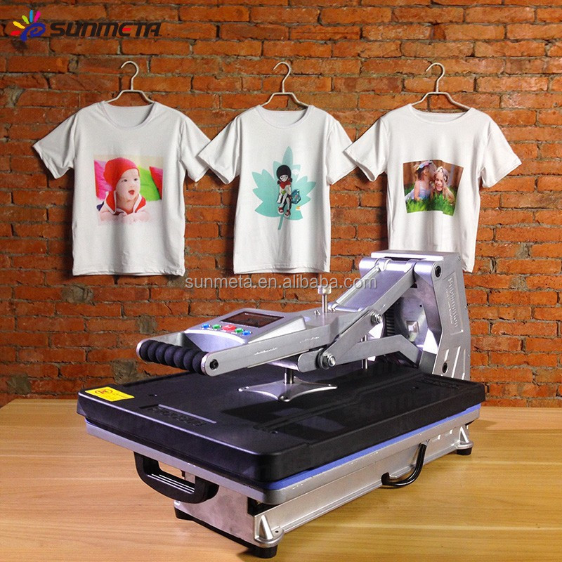 Wholesale high quality cheap price t shirt heat press for Cheapest t shirt printing machine