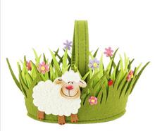 Hot Sale Eco-friendly Felt Easter Basket Gift