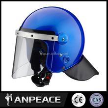 China supplier full face ABS iso standard security & military anti riot helmet FBK-V01