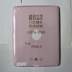 Ultra Thin Soft TPU Silicone Clear Case Cover For iPad 2/3/4 Air Mini