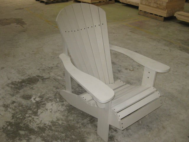 Adironback chair ourdoor furniture plastic outdoor Pvc pipe outdoor furniture