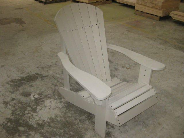 Adironback chair ourdoor furniture plastic outdoor Pvc pipe outdoor furniture