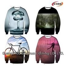 100% Polyester Fleece Crew Neck Sweatshirt