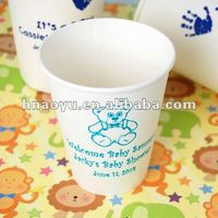 single wall offset printing paper cups for hot drinks