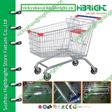 wholesale supermarket wire shopping cart for elderly