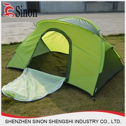 Hot selling outdoor one person make your own design Customed Camping Tent