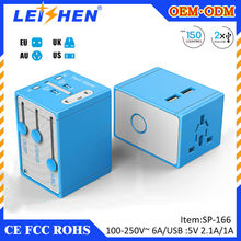 Hot selling high quality travel adapter plug korea for very cheap gift items