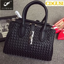 New Arrival Retail Fashion women designer girl embrossed handbag casual tote bag shoulder bag